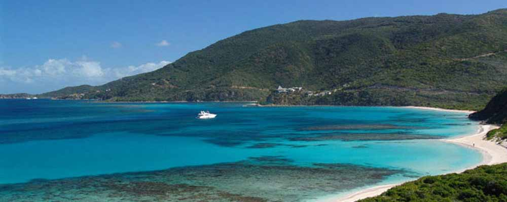 Charter a yacht in the BVI's