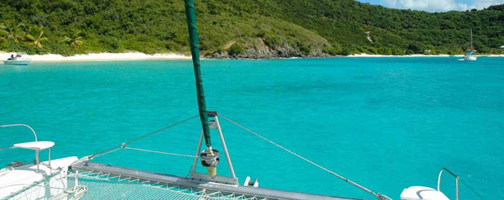Charter a yacht in the USVI