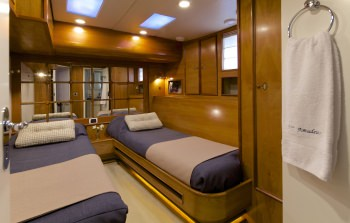 Twin Cabin (convertable to Double)