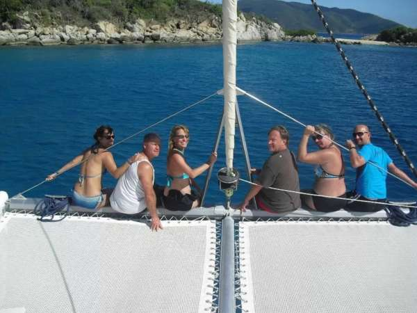 Bow riders - Foredeck &the trampoline