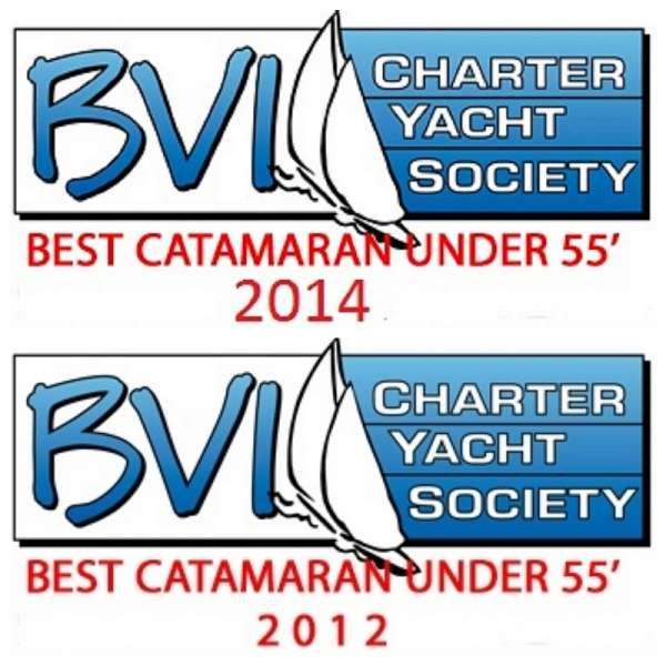WINNER 2012 & 2014 Best Catamaran under 55ft