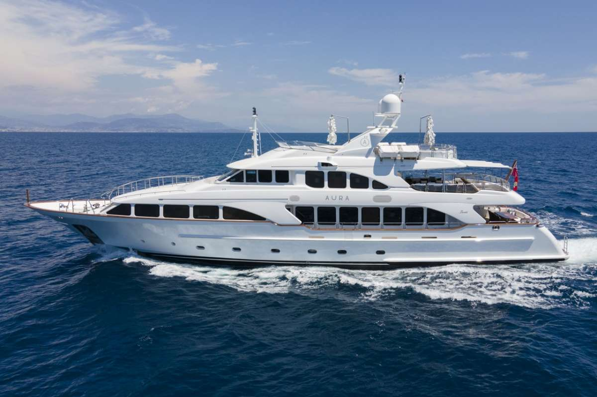 wildthyme120 charter yacht