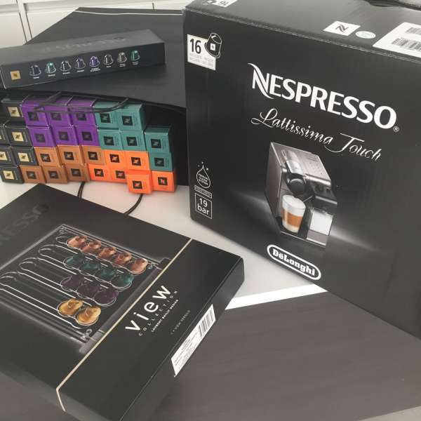 Nespresso coffee machine onboard