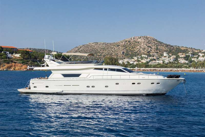 vento78 charter yacht