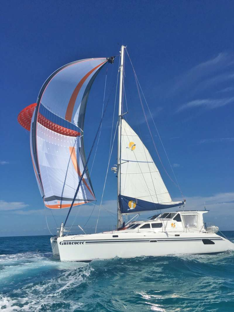 guinevere50 charter yacht