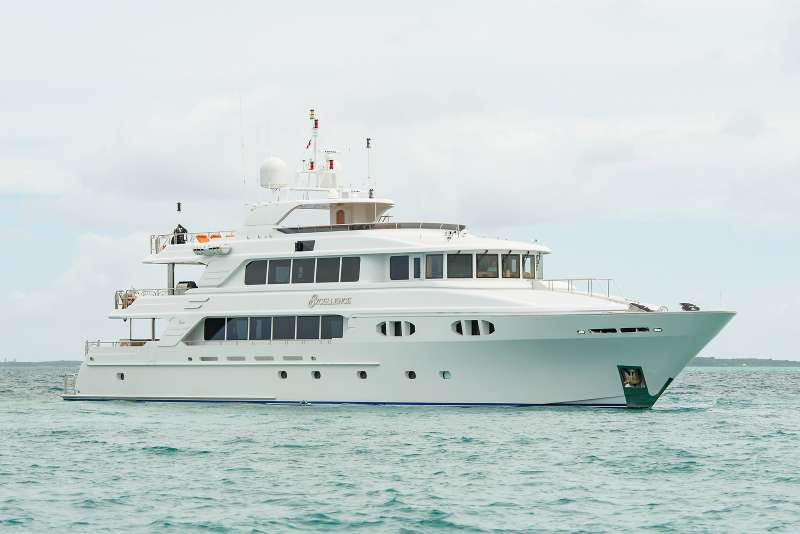 excellence150 charter yacht