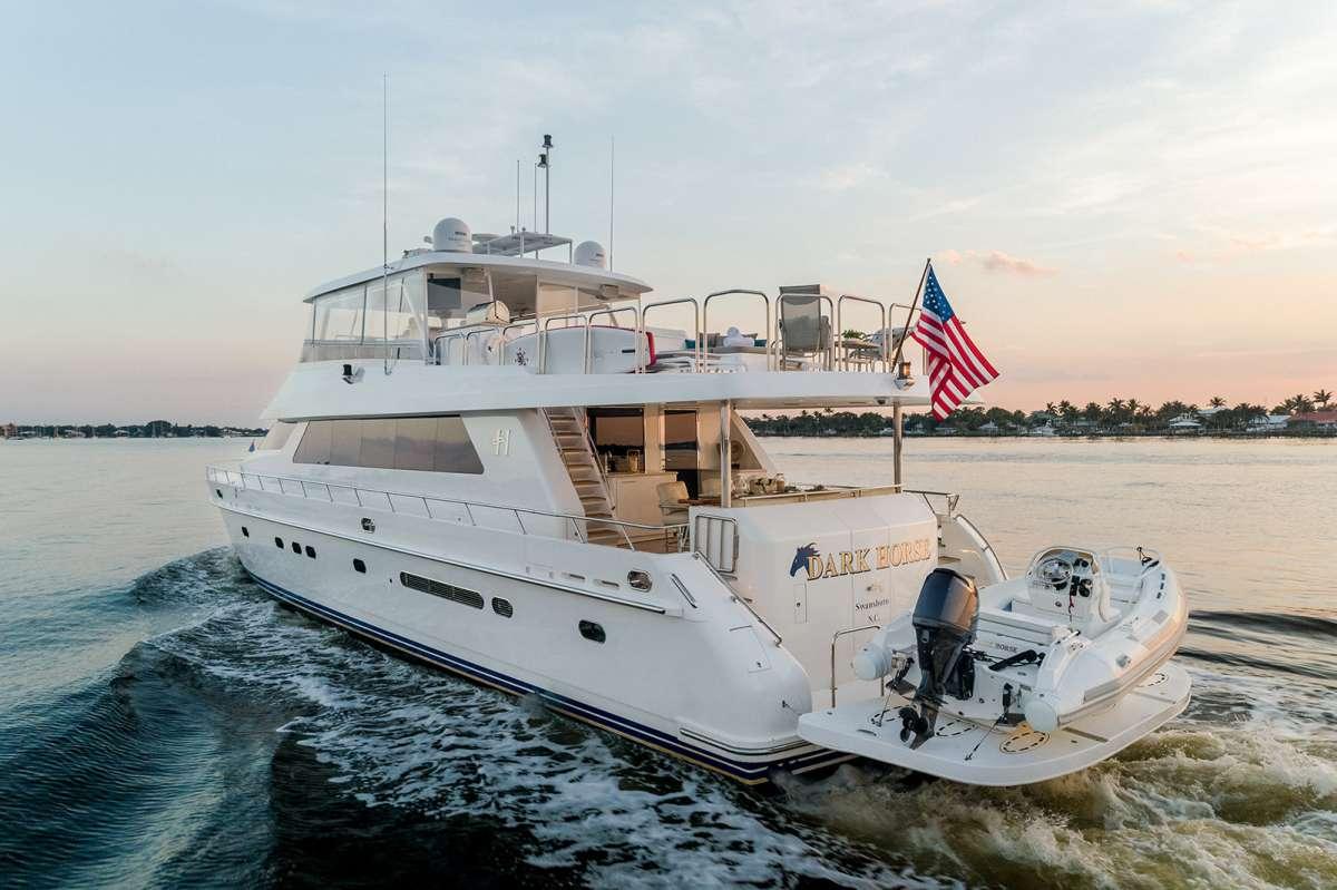 DARK HORSE 77' Charter Yacht
