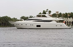 lady cope charter yacht